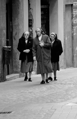 Nuns at Manresa (Spain)