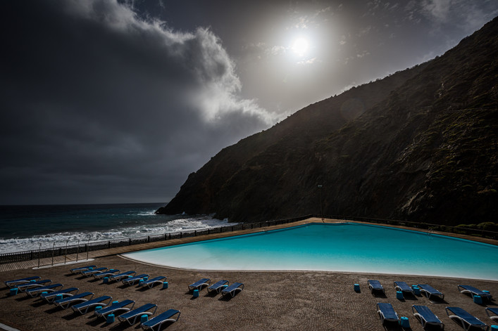 Swimming Pool at Vallehermoso - La Gomera - Canary Islands (Spain)
