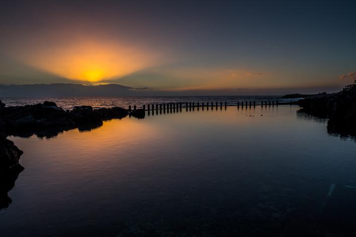 Sunset over La Gomera - Canary Islands (Spain)