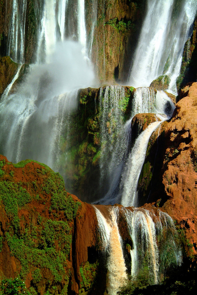 Waterfall at Ouzoud (Morocco)