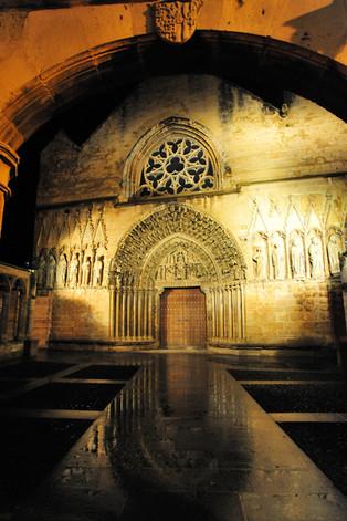 Santa María la Real Church - Olite - Navarra (Spain)
