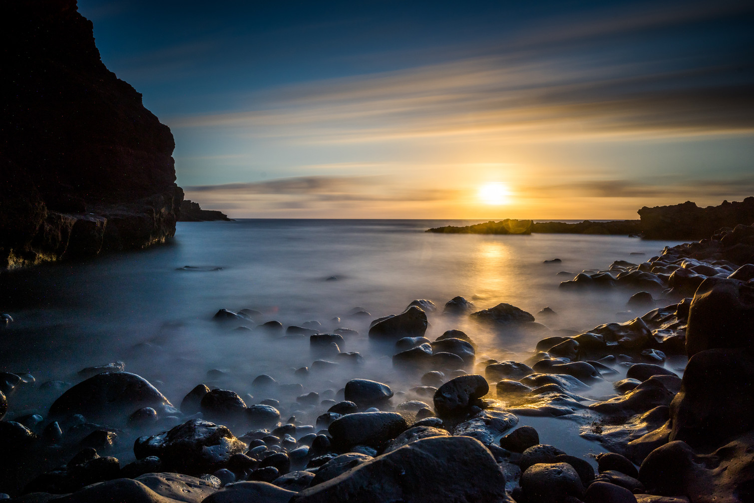 Sunset at Punta Teno - Tenerife - Canary Islands (Spain)