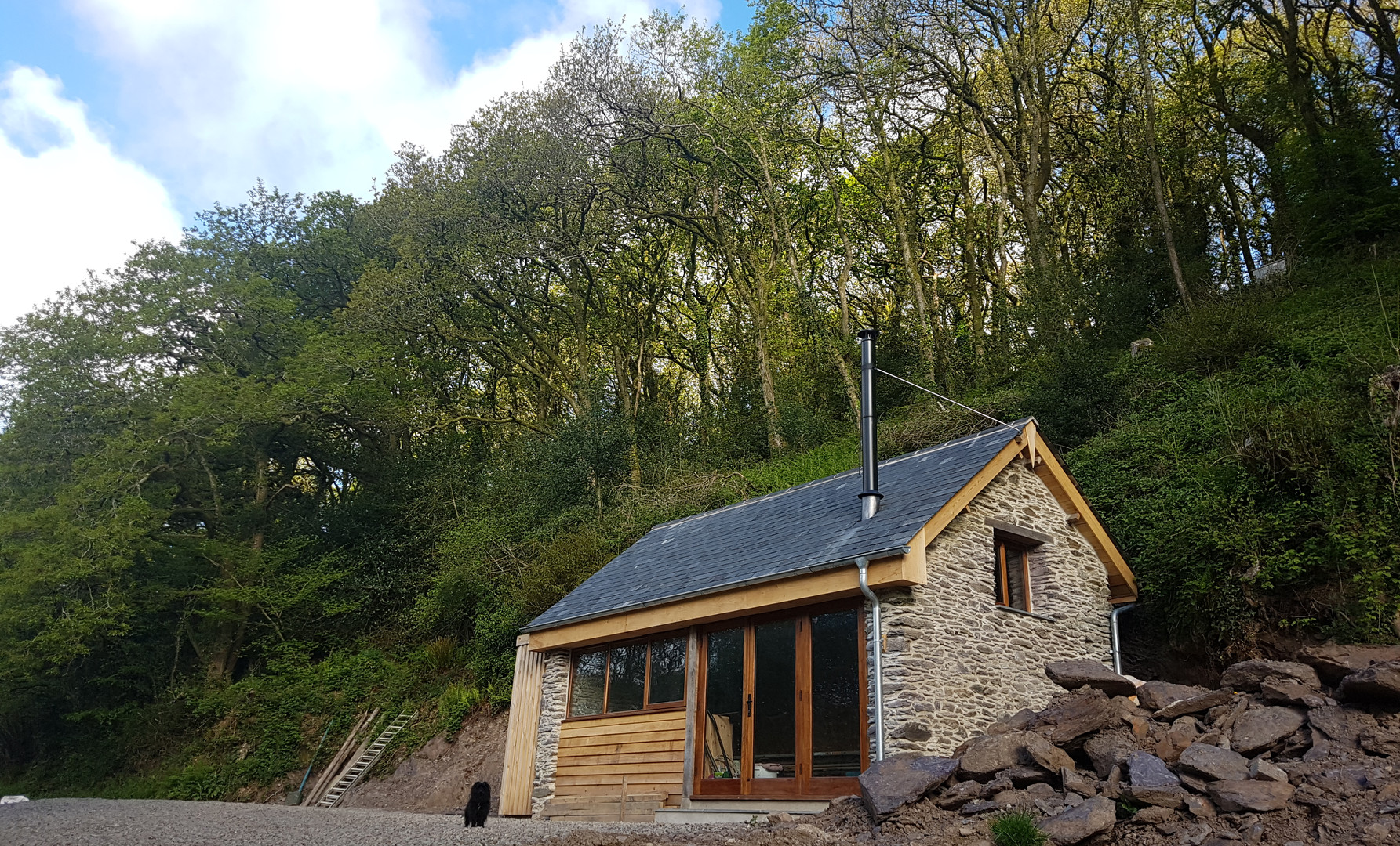 Craig is responsible for the roofing in beautiful Welsh slate