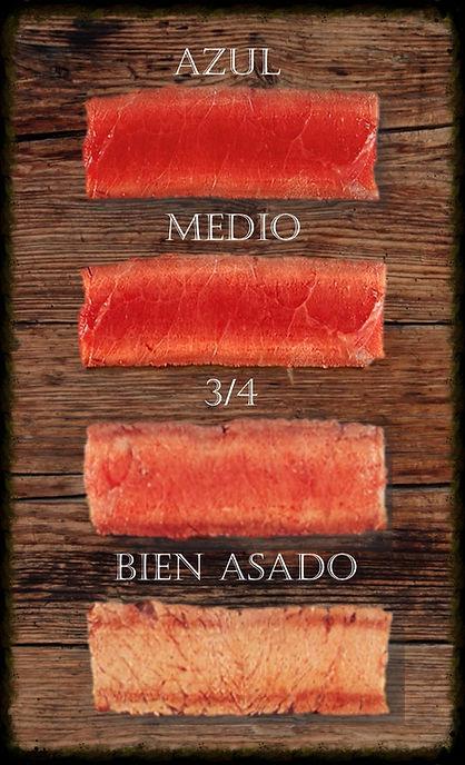 terminos para tu carne