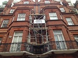 12ft Scaffold Tower in Sloane Square, London
