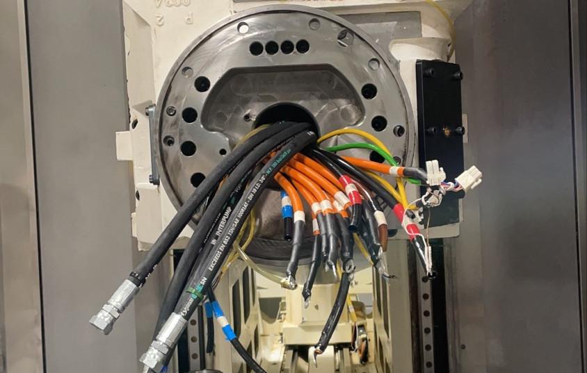 Mazak VTC-800/30SR Einbau
