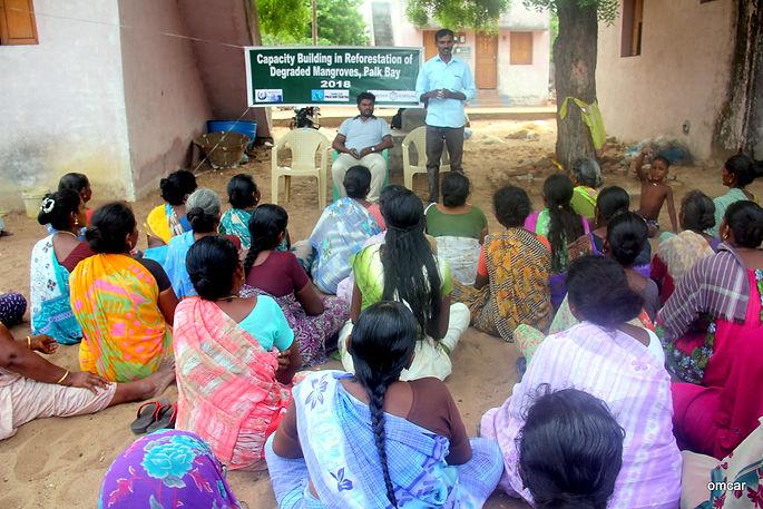 Mangroves Meeting  Pillaiyarthidal,2018