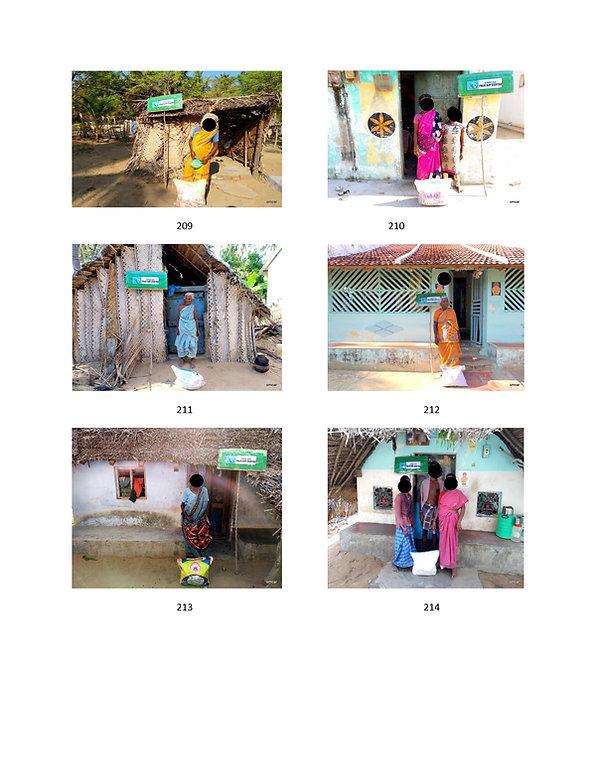OMCAR Covid 19 Relief work in Palk Bay,