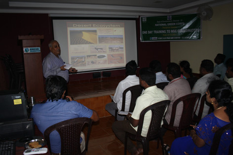 Training Session: Marine Biodiversity
