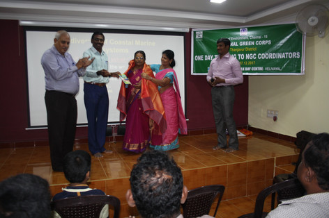 Inaugration by District Educational Officer,Pattukkottai