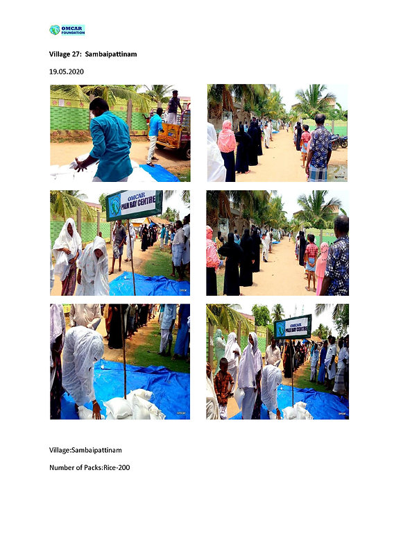 OMCAR Foundation Covid Relief Support 20