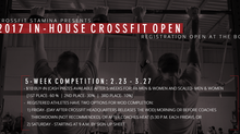 CrossFit Stamina Presents: In-house CrossFit Open
