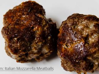 Menu item: Italian Mozzarella Meatballs