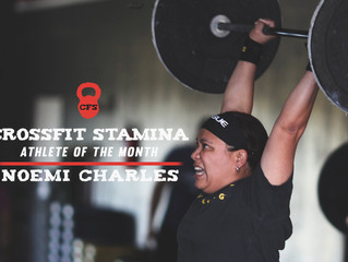 Athlete of the Month: Noemi Charles