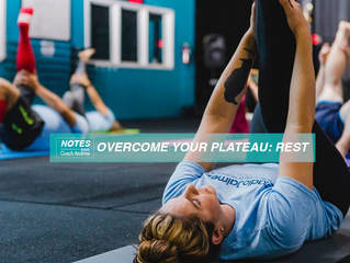 Article 4: Overcome your Plateau- Rest