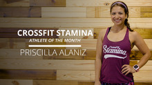 Athlete of the Month: Priscilla Alaniz