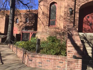 Bidwell Church Entrance