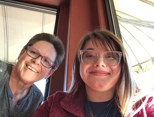 Kathy and Allie