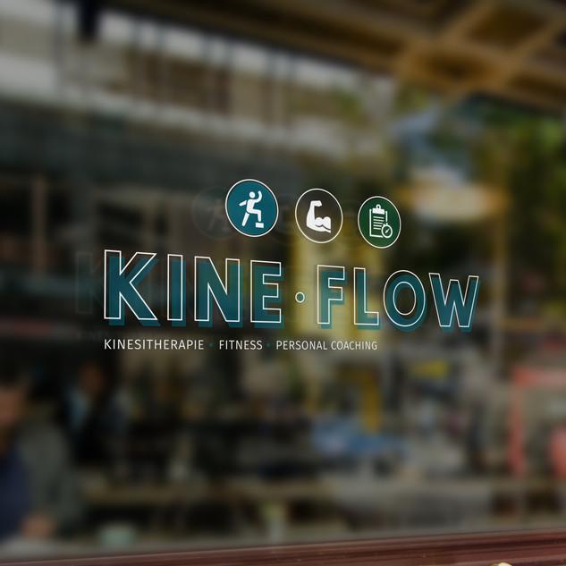 Kine Flow logo