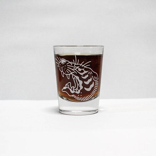 Shot glass - Tiger