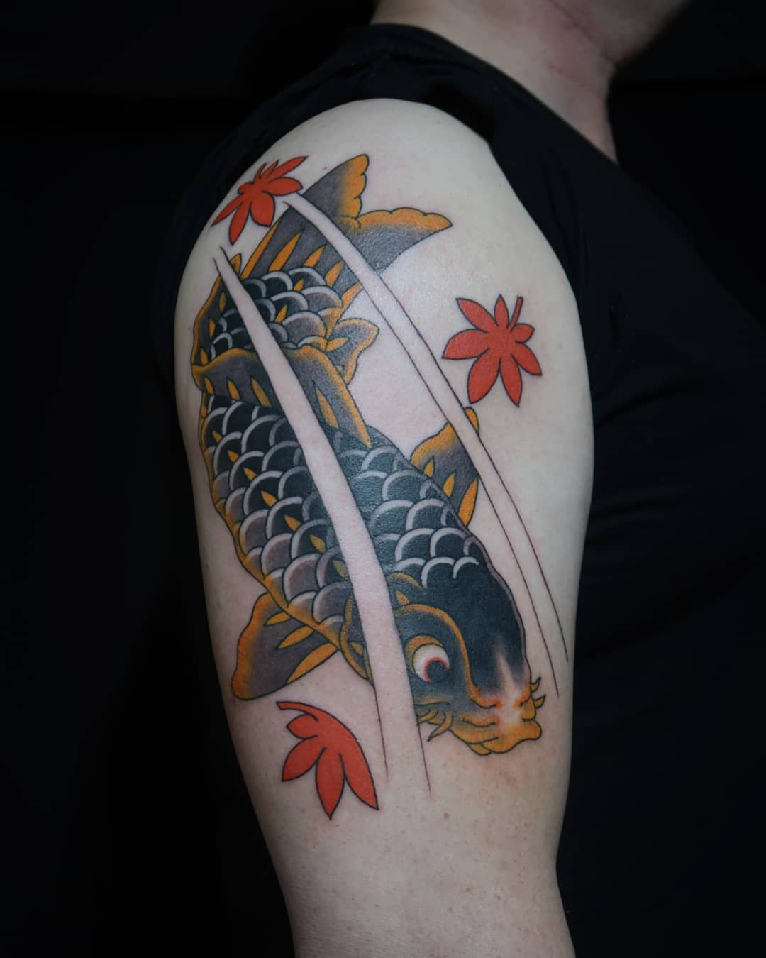 Koi fish tatouage
