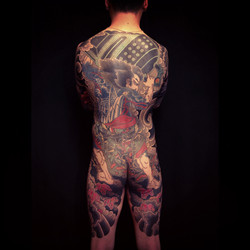 Japanese backpiece