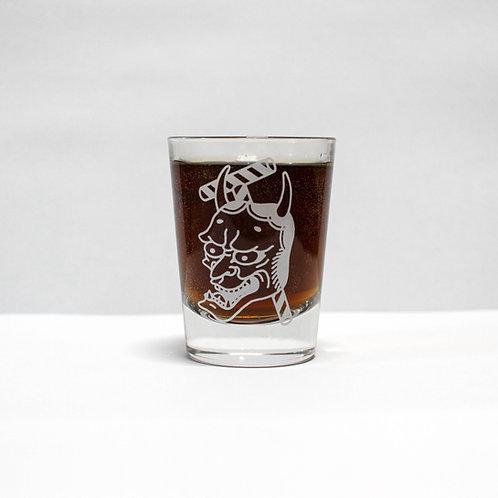 Shot glass - Hannya