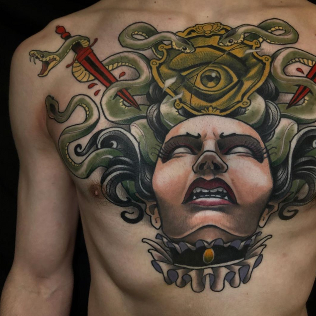 neo trad tattoo tokyo