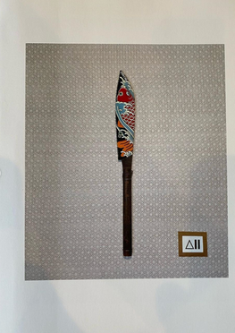Japanese knife painting