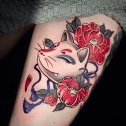 kistune tattoo