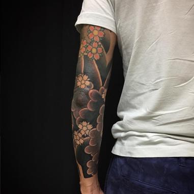 Background tattoo