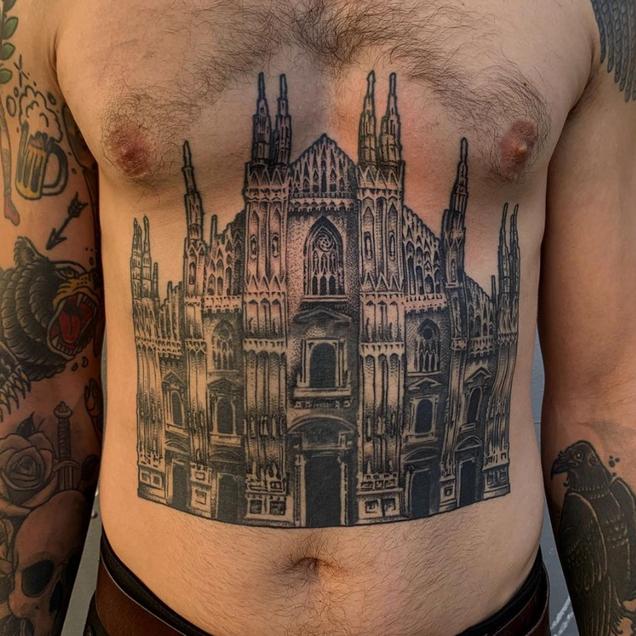 church tattoo