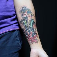 Inari god tattoo