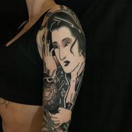 geisha sleeve