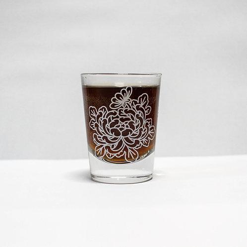 Shot glass - Kiku