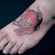 Aka hannya tattoo