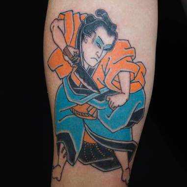 Samourai tattoo