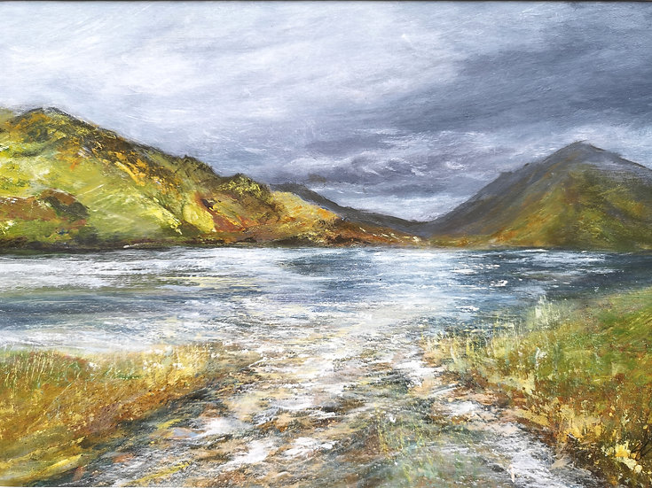 Buttermere Approaching Storm