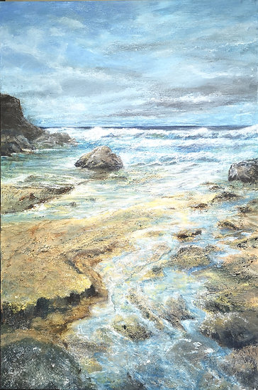 St Agnus Rocky Shore