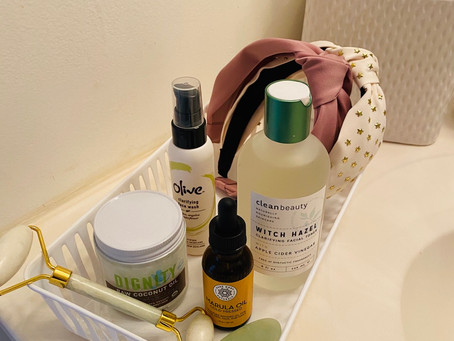 What's in your bathroom basket?...
