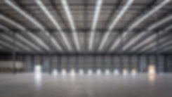 large warehouse interior space