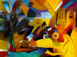 Painting, classic, abstract art,
