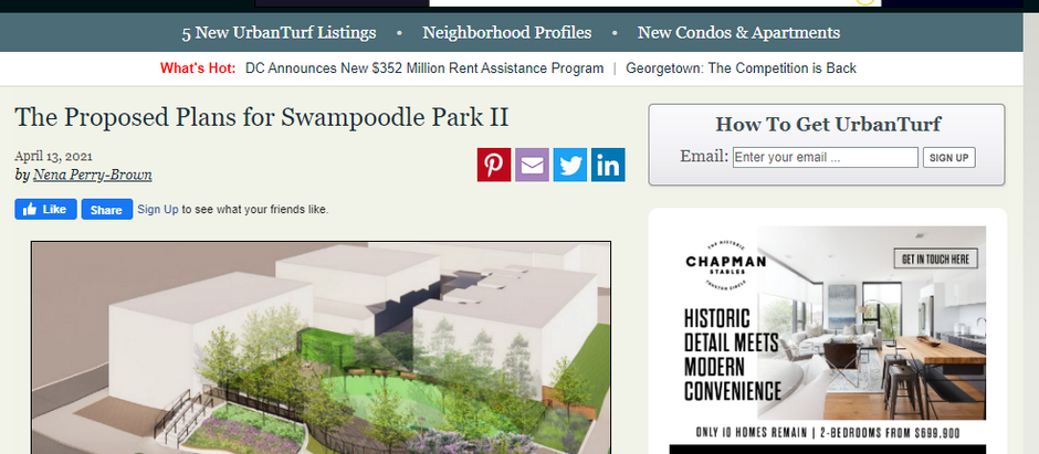 Inside look at LAI's upcoming Swampoodle II Park in NoMa from Urban Turf