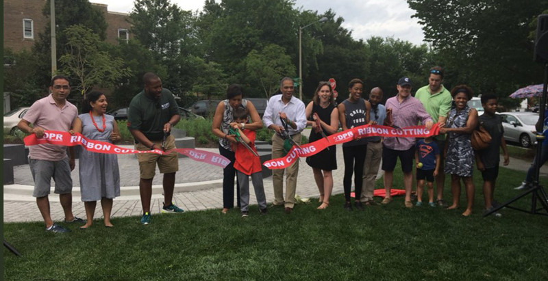 LAI's Petworth Meditation Garden is officially open!