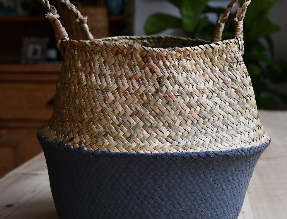 Grey Seagrass Planter
