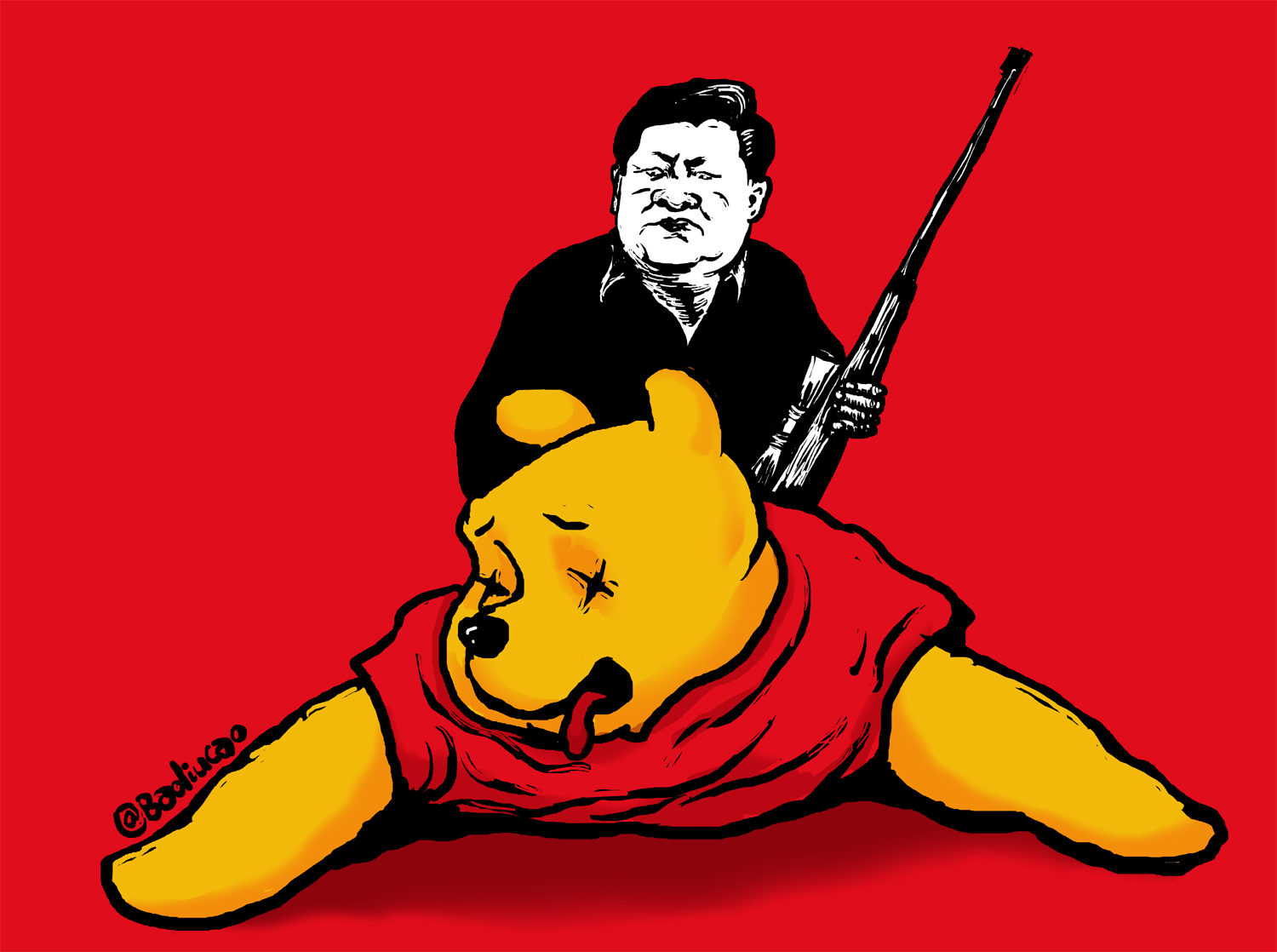 Xi's going on a bear hunt