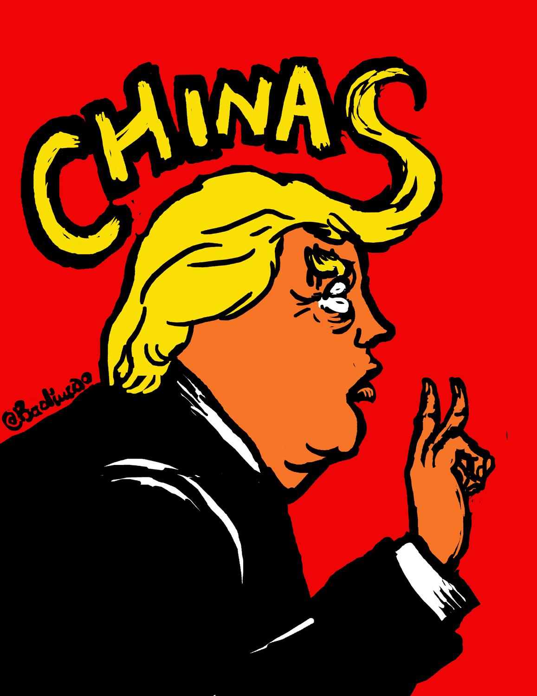 两个中国 trump on Chinas