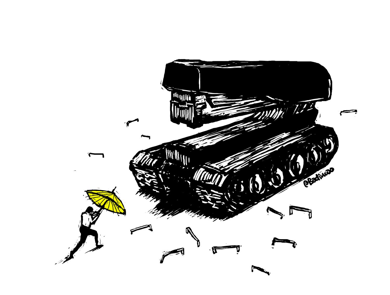 订书机坦克