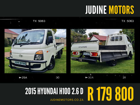 Hyundai's H100 Bakkie remains a popular choice for business owners