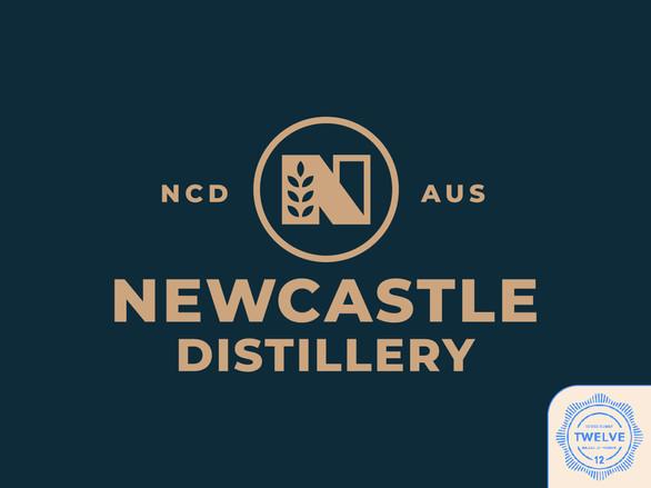 Whiskey Distillery Logo Design